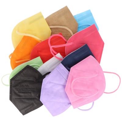 12er Pack FFP2 Masken Bunt für Frauen 5-Lagig, zertifiziert nach DIN EN149:2001+A1:2009, partikelfiltrierende... Produktfoto