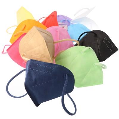 12er Pack FFP2 Masken Bunt für Frauen 5-Lagig, zertifiziert nach DIN EN149:2001+A1:2009, partikelfiltrierende... Produktfoto 2 image