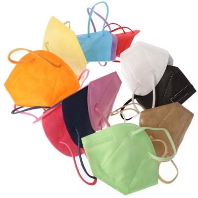 12er Pack FFP2 Masken Bunt für Frauen 5-Lagig, zertifiziert nach DIN EN149:2001+A1:2009, partikelfiltrierende... Produktfoto 4 image