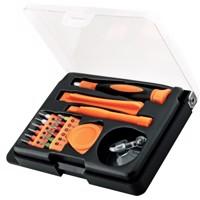 Handy Werkzeugset mit 17 Teilen, ideal zum Reparieren von Smartphone, Tablet oder Notebook Produktfoto