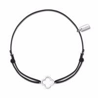 LISE Armband schwarz/silber Produktfoto