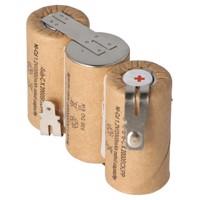 Akku passend für Gardena ACCU 60 mit Faston 6,3 und 4,8mm, 2000mAh Produktfoto