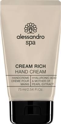alessandro Hand Spa Cream Rich 75ml Produktfoto