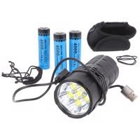 25000 Lumen Imalent MS06 LED-Taschenlampe mit starken 25.000 Lumen, bis zu 513 Meter, inklusive 3 Akkus Produktfoto