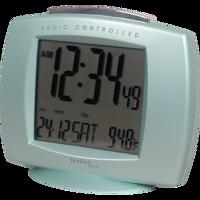 Funkwecker mit Datums- und Temperaturanzeige - WT 189 Mint Produktfoto