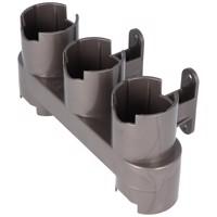 Wandhalterung passend für das Dyson Zubehör V10, V8, V7, der Zubehörhalter mit Schrauben und Dübel Produktfoto
