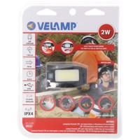 Velamp Metros LED Stirnlampe IH523, akkubetriebener Mulitfunktionsscheinwerfer mit Infrarotschalter inklusive Akku Produktfoto
