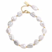 SUMI Armband gold/weiße Perle Produktfoto