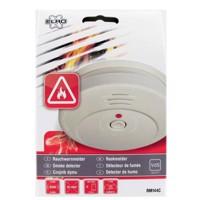 Fotoelektronischer Rauchmelder mit lautem 85 dB(A) Warnton inklusive Batterie Produktfoto