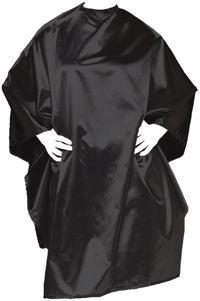 Olivia Garden Wasch und Frisierumhang Charm schwarz Produktfoto