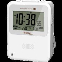 WT350 - Quarzwecker mit Stoppuhr und Timer mit Hintergrundbeleuchtung, Alarmton oder Vibration, Für Wand oder Tisch Produktfoto