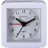 Modell SC weiß - Quarzwecker, beleuchtet, mit Schlummerfunktion, Weiß Produktfoto