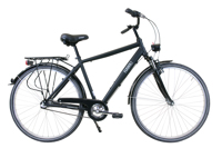 HAWK Citytrek Gent Premium Black Produktfoto