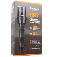 Fenix LD42 LED-Taschenlampe Cree XM-L2 U2 LED mit max. 1000 Lumen inklusive Batterien Produktfoto