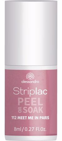 alessandro Striplac Peel or Soak 112 Meet me in Paris 8ml Produktfoto