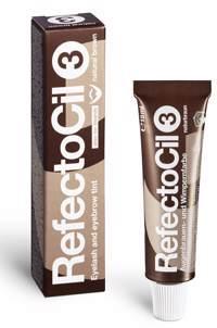 RefectoCil Augenbrauenfarbe-Wimpernfarbe 3 naturbraun 15ml Produktfoto