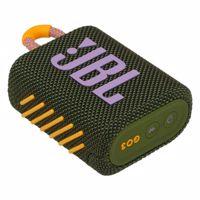 JBL GO3, compact portable speaker with battery, IPX67 waterproof, green Produktfoto