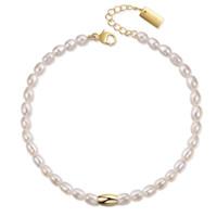 SANGO Armband gold/weiße Perle Produktfoto