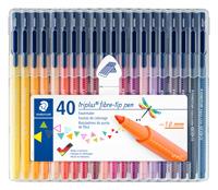 triplus color Fasermaler 40er Box Produktfoto