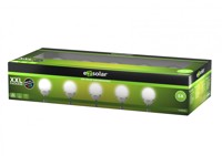 LED Solar Wegeleuchte Cracked Ball, Solar Gartenleuchte mit Farbwechsel-Funktion, inklusive 5x 1,2V AA Ni-MH Akku,... Produktfoto