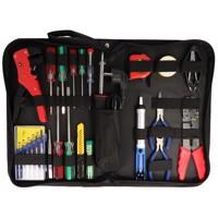 20-teiliges Werkzeugset in praktischer Aufbewahrungstasche, Werkzeugtasche inklusive Lötset Produktfoto