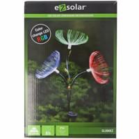 LED-Gartenlicht Pusteblume mit 3 RGB LED Farbwechsel, inklusive Solarpanel und Akku Produktfoto