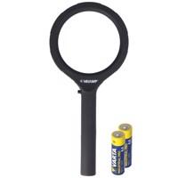 Lupe mit LED-Beleuchtung und 3fach Vergrößerung mit 12 LEDs, IN287, ideal geeignet zum Lesen von Zeitungen,... Produktfoto