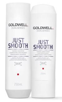 Goldwell Dualsenses Just Smooth Taming Set (Shampoo 250ml + Conditioner 200ml) Produktfoto