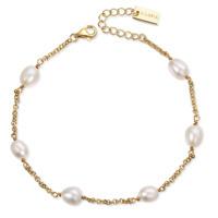 SHIZUKA Armband gold/weiße Perle Produktfoto