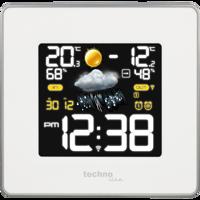 WS 6440 - Wetterstation mit farbigen LED´s Produktfoto
