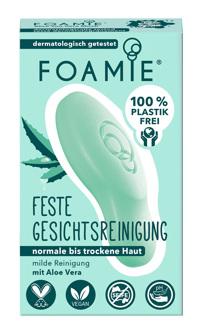 Foamie Feste Gesichtsreinigung Aloe You Vera Much 60g Produktfoto