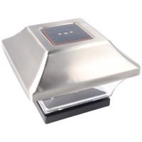 Zaunpfostenleuchte Solar LED Leuchte für Zaunpfähle, Garten Pfostenkappen, Zaunpfosten bauähnlich GL067SSDU in... Produktfoto