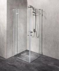 Duschkabine/ Duschabtrennung Dusbad Vital 3 Eckeinstieg 100x100cm Produktfoto