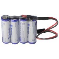 Empfänger Pack AA 4er Reihe 4,8/2700 mit dem Graupner Stecker für den Empfänger Produktfoto