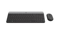 Das ist MK470 Slim Wireless Combo. Das ultradünne, zukunftsorientierte Tastatur-Maus-Set für perfekt effizientes Arbeiten, selbst auf Produktfoto