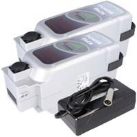 2 Stück E-Bike Power Pack Akku kompatibel zum 36V 13Ah 468Wh Panasonic Deluxe-Antriebssystem inklusive 1x... Produktfoto