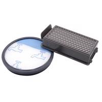 Staubsaugerfilter Set für Staubsauger wie Rowenta ZR005901 , 1x Hepa-Filter, 1 x Vormotor-Filter, Kunststoff /... Produktfoto