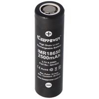 KeepPower IMR18650 - 2500mAh 3,6V - 3,7V Hochstromzelle Li-Ion-Akku Produktfoto