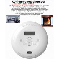 Kohlenmonoxidmelder mit Batterien, für Privathaushalte, Sensorlebensdauer ca. 7 Jahre Produktfoto