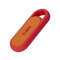 Kompakter Wireless-Lautsprecher mit 2 W, Batterie mit 300 mAh, und Haken für den Gürtel Produktfoto