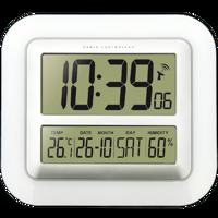 WS 8006 - Funkwanduhr mit Temperatur- und Luftfeuchteanzeige Produktfoto