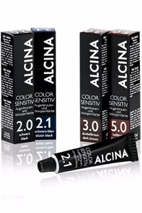 Alcina Color Sensitiv Augenbrauenfarbe-Wimpernfarbe 2.1 Schwarz-Blau 17ml Produktfoto