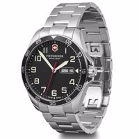 Wenger Uhr - FieldForce ø42, black dial, bracelet Produktfoto