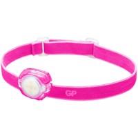 Stirnlampe GP CH31 40lumen inkl. 2x CR2025 Lithium Knopfzellen Lila Produktfoto