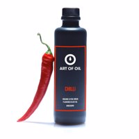 BIO - Aromatisiertes Natives Olivenöl Extra - CHILLI 200ml Produktfoto