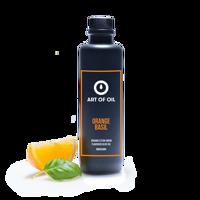 BIO - Aromatisiertes Natives Olivenöl Extra - ORANGE BASIL 200ml Produktfoto