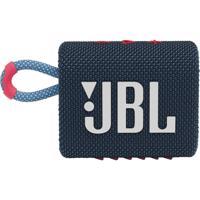 JBL GO3, compact portable speaker with battery, IPX67 waterproof, Blue-pink Produktfoto