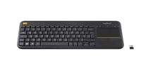 Wireless Touch Keyboard K400 Plus Black - DE-Layout Produktfoto