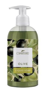 LaNature Olive Flüssigseife 300ml Produktfoto