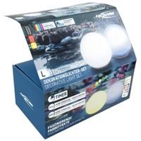 2 Stück ANSMANN Aqua Ball schwimmende LED-Wasserleuchten mit Farbfunktionen, inklusive 3 AAA Micro Batterien und... Produktfoto